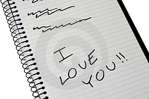 I Love You Stock Images - Image: 3449084