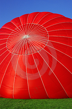 Red Air Balloon Royalty Free Stock Photo - Image: 3450665