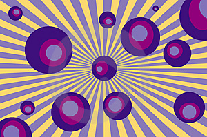 Retro Circles Stock Photo - Image: 3466710
