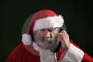Santa Royalty Free Stock Photos - Image: 3469618