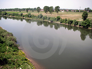 River Landscape Stock Photography - Image: 3474142