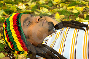 Sad Jamaican Thinking Stock Photos - Image: 3478613