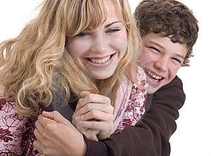 Brotherly Hug Stock Image - Image: 3480921