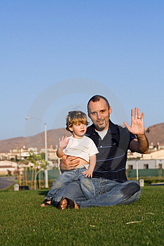 Father and Son Free Stock Photo