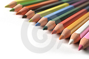 Colorful Pencils Stock Images - Image: 3483754