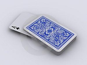 Spelkaarten 4 Stock Afbeeldingen - Afbeelding: 3487464