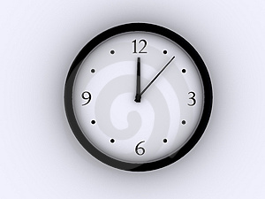 Clock 2 Royalty Free Stock Image