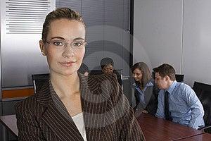 White collar environment Stock Photos