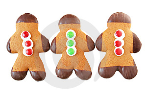 Stock Photos - Gingerbread men