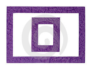 Purple Frames Royalty Free Stock Image - Image: 3491676