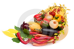 Colorful vegetables Royalty Free Stock Photo