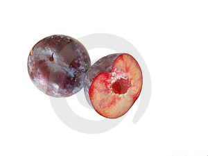 Plums Royalty Free Stock Photography - Image: 3495517