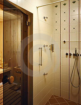 Bathroom Royalty Free Stock Image - Image: 3496616
