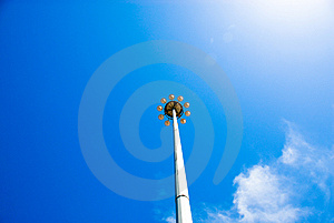 Up To The Sky Stock Image - Image: 3497081