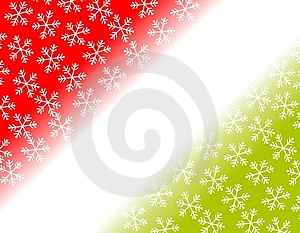 Snowflake Corner Backgrounds Stock Photo - Image: 3497330