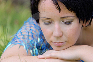Dreaming Girl Stock Images - Image: 353514