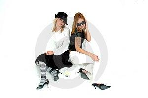 Meninas Glam Imagens de Stock Royalty Free - Imagem: 354349