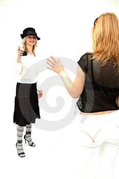 Meninas Glam Imagem de Stock Royalty Free - Imagem: 354396