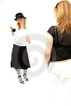Meninas Glam Fotos de Stock Royalty Free - Imagem: 354398