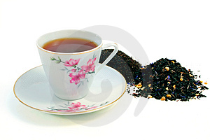 Cup of Tea Free Stock Image