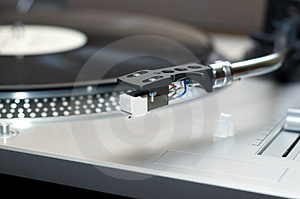 Vinyl Disk Player Royalty Free Stock Photos - Image: 3501128