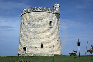 Spanish Fortification Royalty Free Stock Photos - Image: 3501148