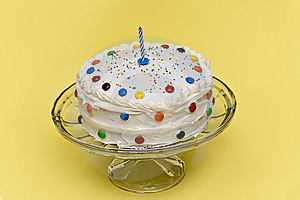 Birthday Cake Free Stock Photography