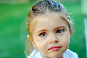 Beautiful Young Kid Girl Jana Royalty Free Stock Images - Image: 3503229