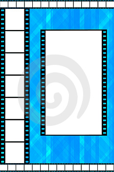 Film strip frame Stock Image