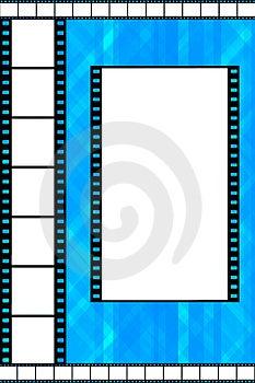 Struttura della striscia di pellicola Immagine Stock