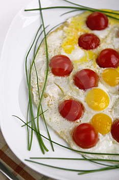 Fried Eggs Royalty Free Stock Photos - Image: 3509148