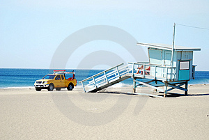 Lifeguard Patrol Royalty Free Stock Photo - Image: 3510445