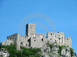 Spiš castle Royalty Free Stock Image