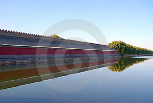 Moat, Forbidden City Royalty Free Stock Images - Image: 3540219