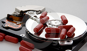 Disk Drive Remedy Stock Photography - Image: 3541882