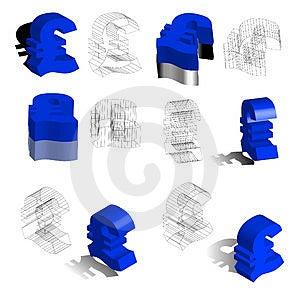 ₤, Euros Stock Photo - Image: 3547950