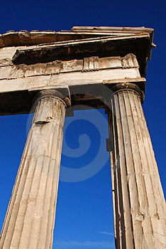 Greek Colums Royalty Free Stock Photos - Image: 3553068