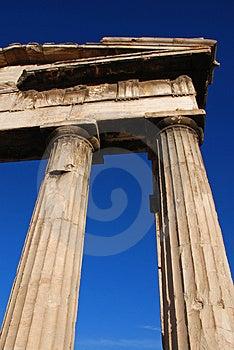 Greek Colums Royalty Free Stock Photos - Image: 3553068