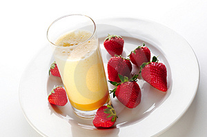 Egg Shake Royalty Free Stock Photography - Image: 3561317