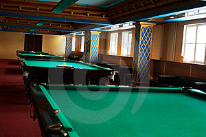 Billiard Tables Stock Photos - Image: 3562863
