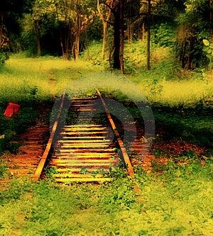 Abandon Railway Stock Images - Image: 3574734