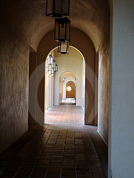 Empty Hallway Stock Photo - Image: 3576140