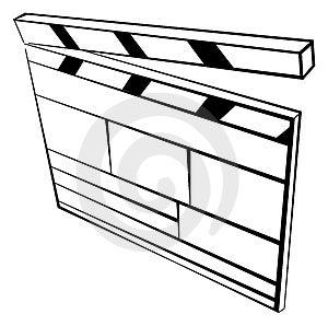 Movie Royalty Free Stock Image