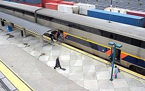 Train Station #3 Royalty Free Stock Image - Image: 361996