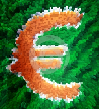 Euro Munt Royalty-vrije Stock Fotografie - Afbeelding: 365817