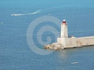 Lighthouse Of Nice Royalty Free Stock Photo - Image: 367005