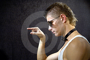 Tough Guy Royalty Free Stock Images - Image: 3607529