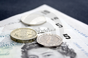 Cash & Coins 1 Stock Photos