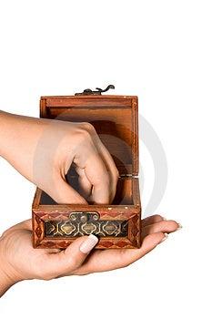 Pick The Treasure Royalty Free Stock Photo - Image: 3638345