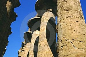 Philae-Tempel Colums Lizenzfreie Stockfotos - Bild: 3639868